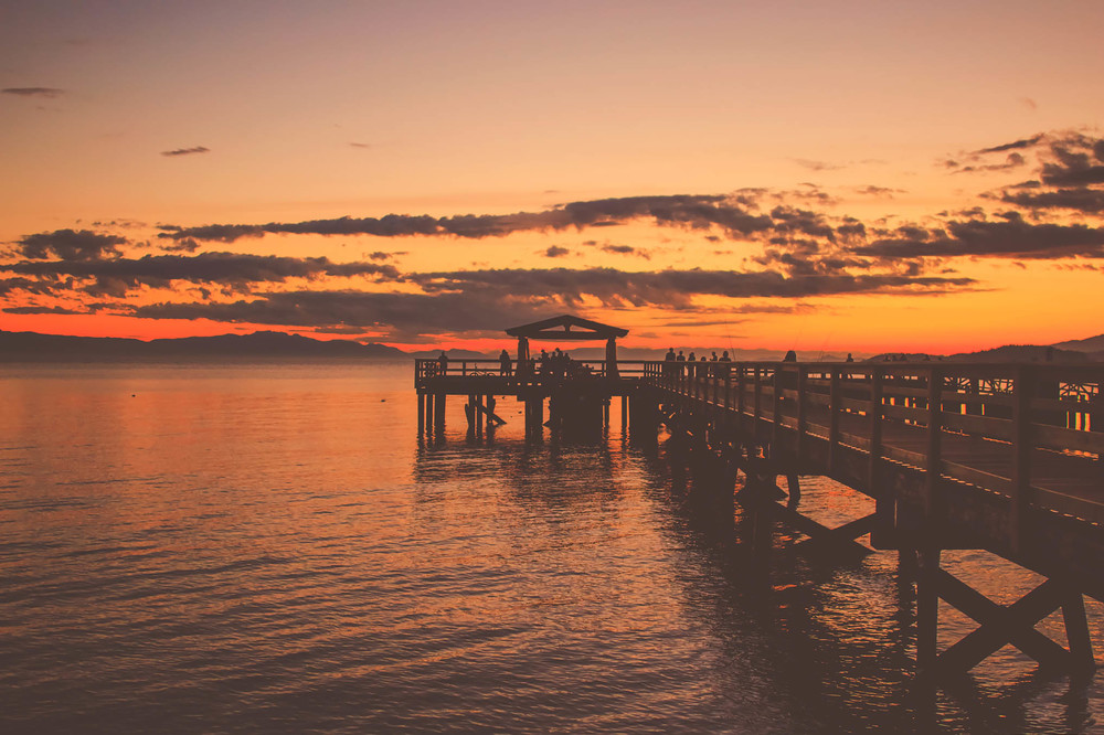 davis bay pier, sunshine coast bc, jennifer picard photography