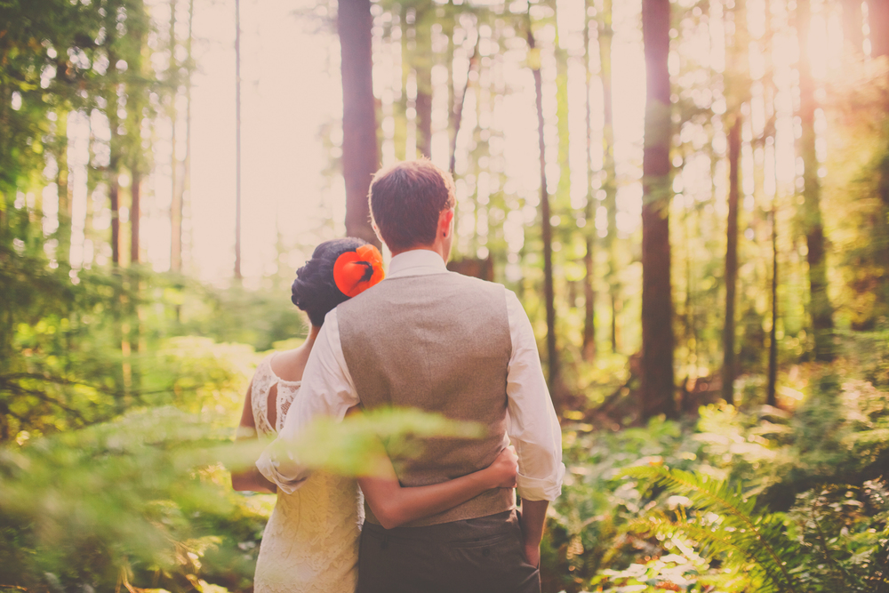 port moody forest wedding, vancouver wedding photographer, jennifer picard photography