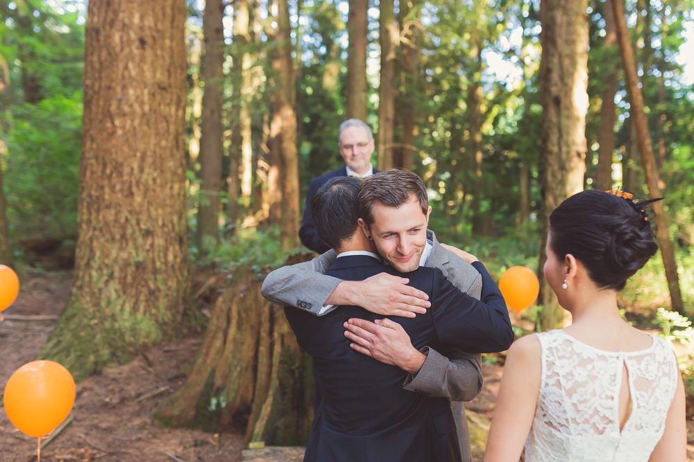 port moody forest wedding, vancouver wedding photography, jennifer picard photography