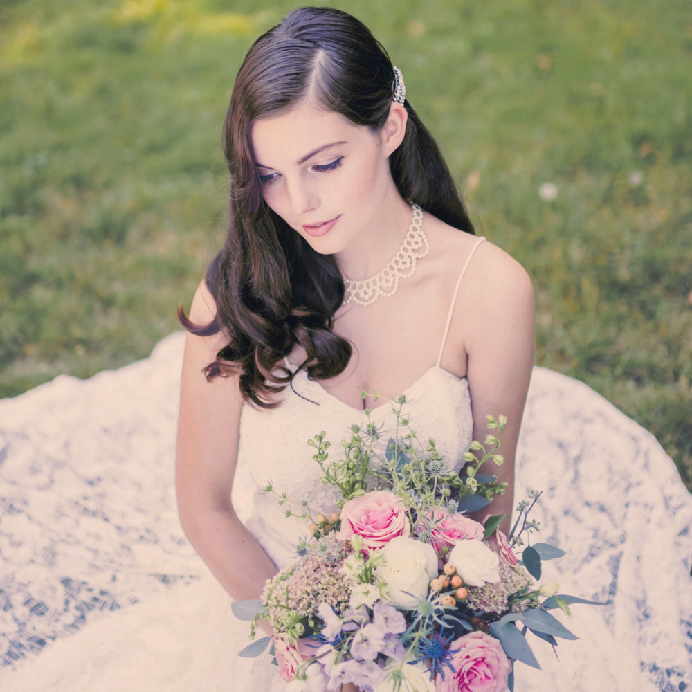 soft and pretty vintage bridal, bridal editorial, jennifer picard photography, vancouver wedding photographer