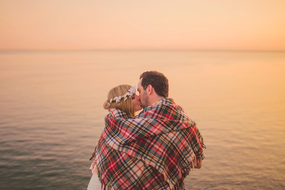 sunset sunshine coast engagement, jennifer picard photography, vancouver wedding photographer