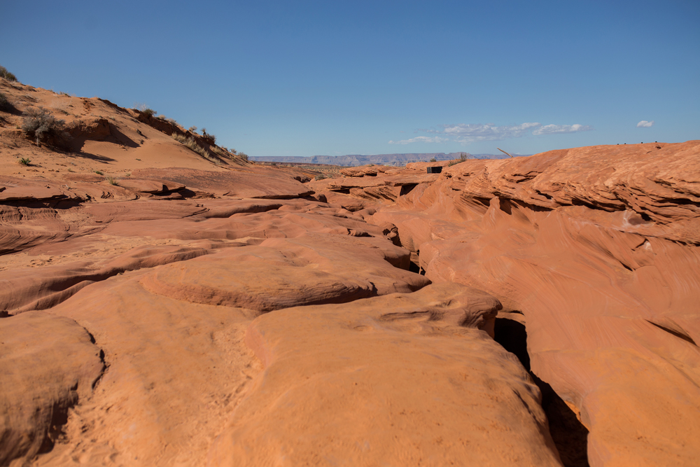 antelope canyon surface, jennifer picard photography