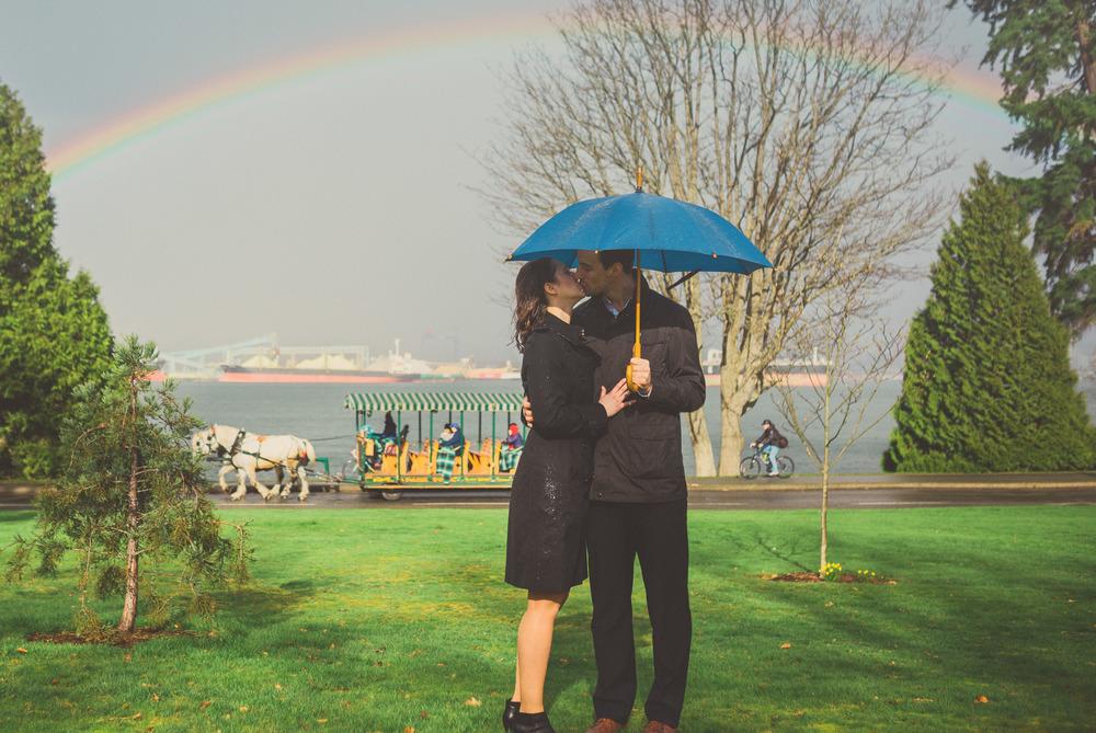 Stanley Park Engagement Photos - Jennifer Picard Photography - Vancouver Wedding Photographer