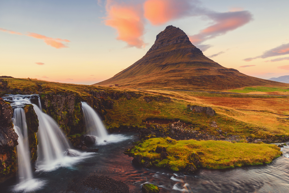 Iceland, Kirkjufell Mountain, Jennifer Picard Photography, Travel Photography