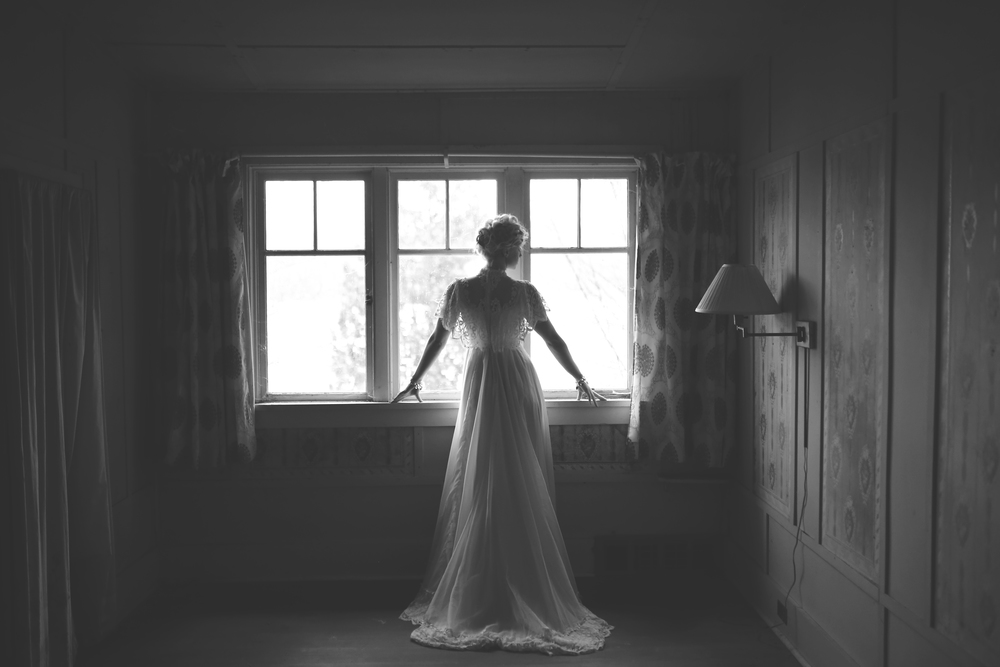 Black and White Bridal Editorial, Jennifer Picard Photography, Bridal Video
