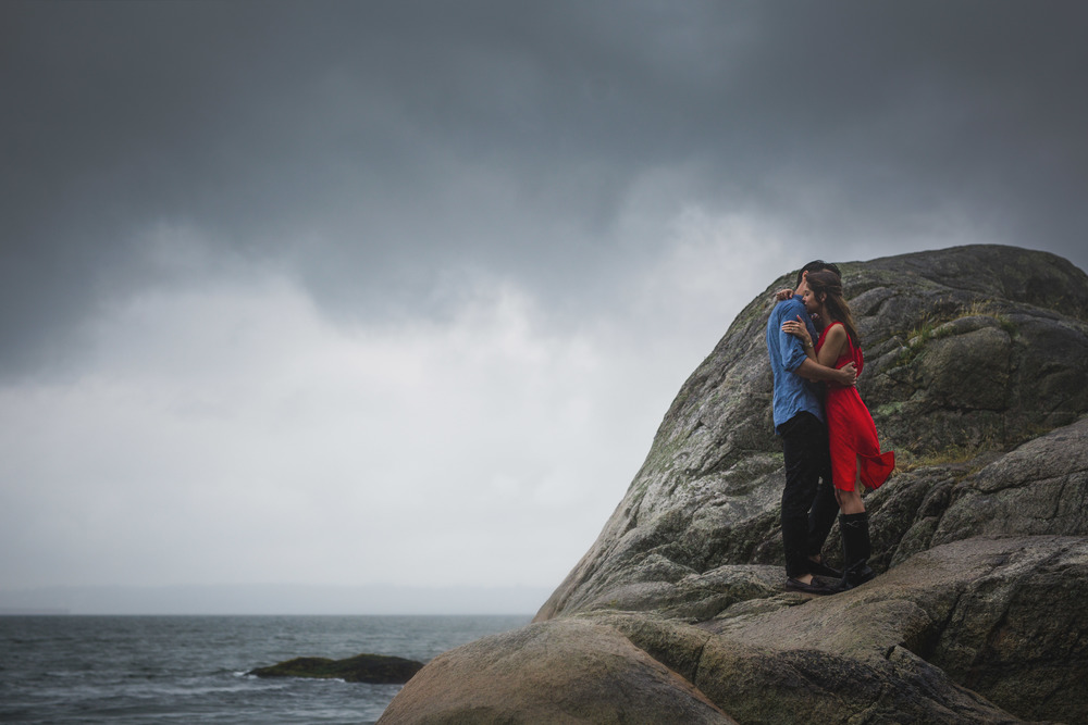 lighthouse park engagement session, vancouver wedding photographer, jennifer picard photography