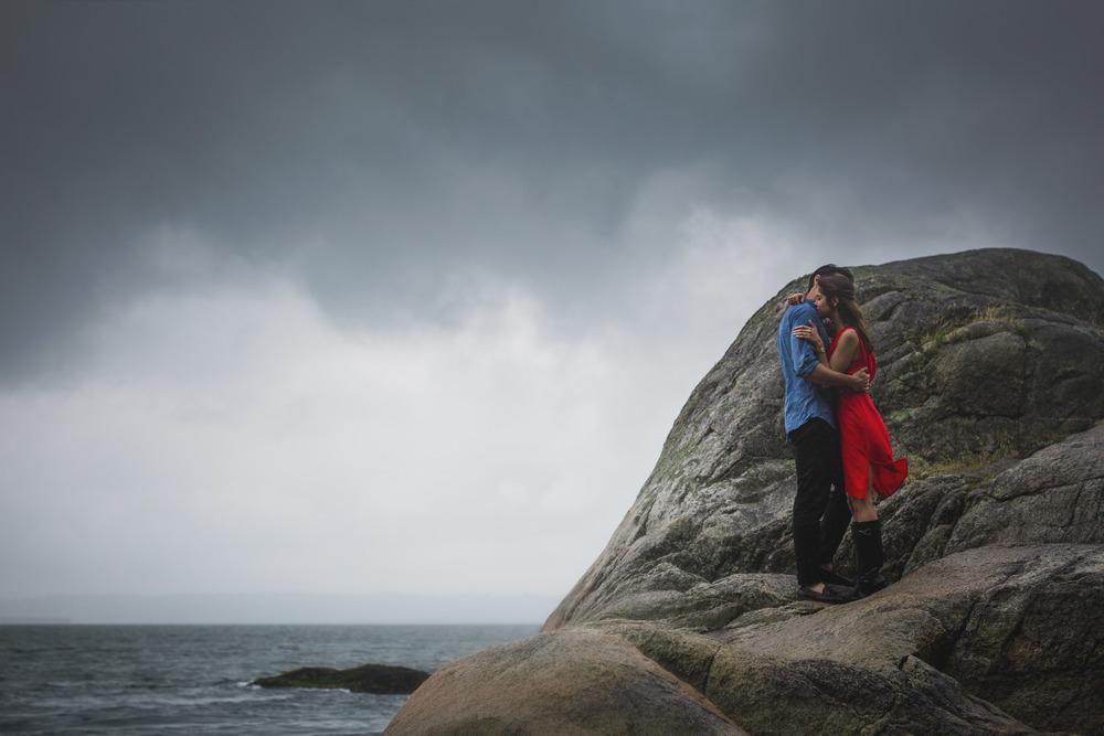 lighthouse park engagement session, vancouver wedding photographer, jennifer picard photography