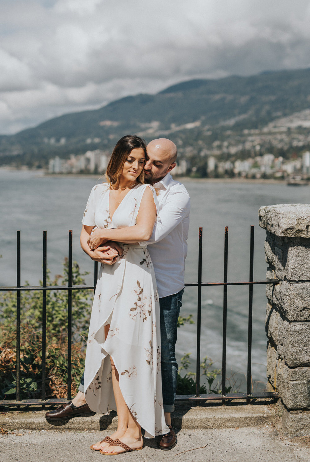 Sunshine Coast Vancouver Wedding Photographer, Vancouver Engagement Photos, Stanley Park Engagement Photos
