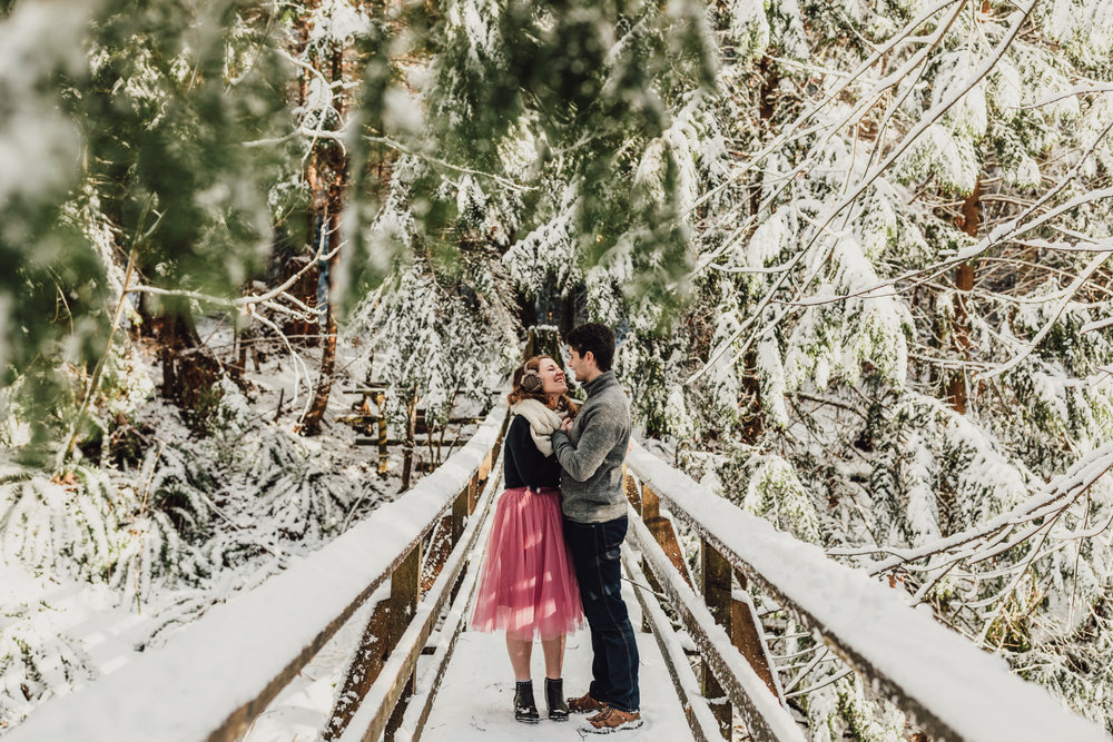 Snowy Engagement Photos - Gibsons Engagement Photos - Sunshine Coast Engagement Photos - Vancouver Wedding Photographer and Videographer - Jennifer Picard Photography107.JPG