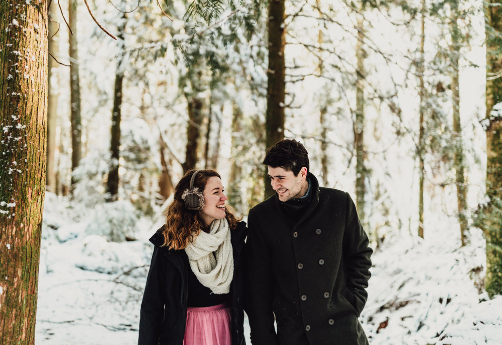 Snowy Engagement Photos - Gibsons Engagement Photos - Sunshine Coast Engagement Photos - Vancouver Wedding Photographer and Videographer - Jennifer Picard Photography081.JPG