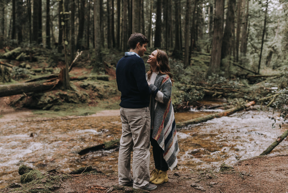 Forest Engagement Photos - Sunshine Coast BC Engagement Photos -  Sunshine Coast Wedding Photographer - Vancouver Wedding Photographer - Jennifer Picard405.JPG