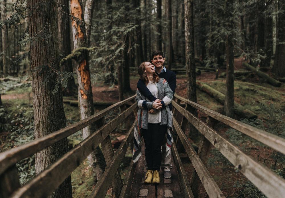 Forest Engagement Photos - Sunshine Coast BC Engagement Photos -  Sunshine Coast Wedding Photographer - Vancouver Wedding Photographer - Jennifer Picard409.JPG