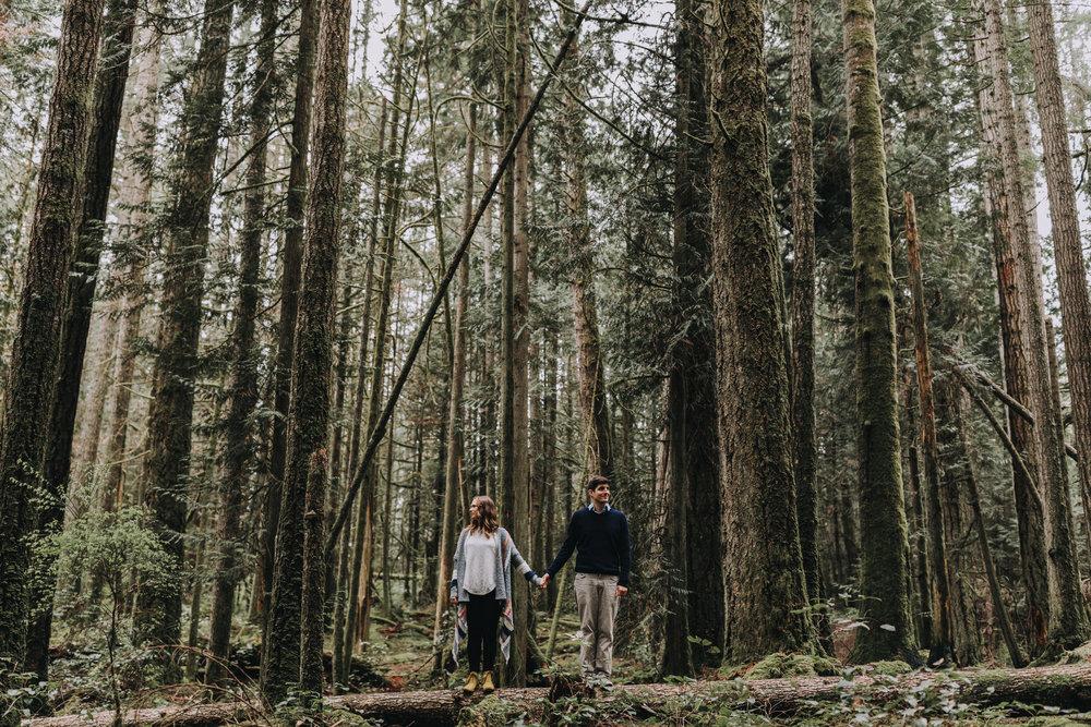 Forest Engagement Photos - Sunshine Coast BC Engagement Photos -  Sunshine Coast Wedding Photographer - Vancouver Wedding Photographer - Jennifer Picard414.JPG