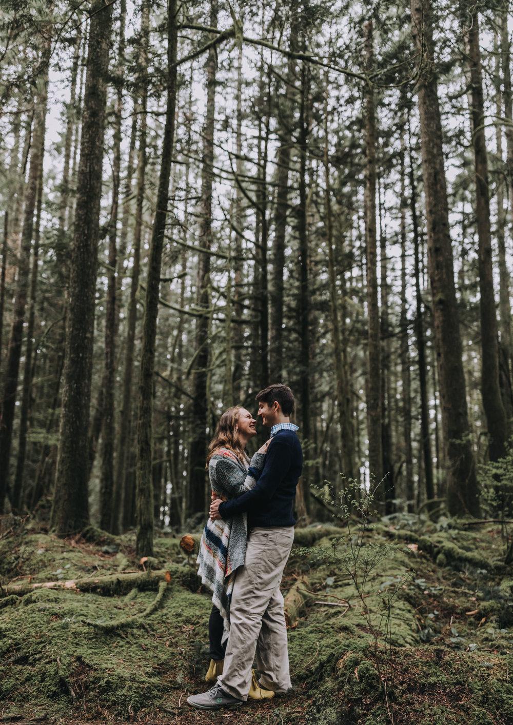 Forest Engagement Photos - Sunshine Coast BC Engagement Photos -  Sunshine Coast Wedding Photographer - Vancouver Wedding Photographer - Jennifer Picard415.JPG
