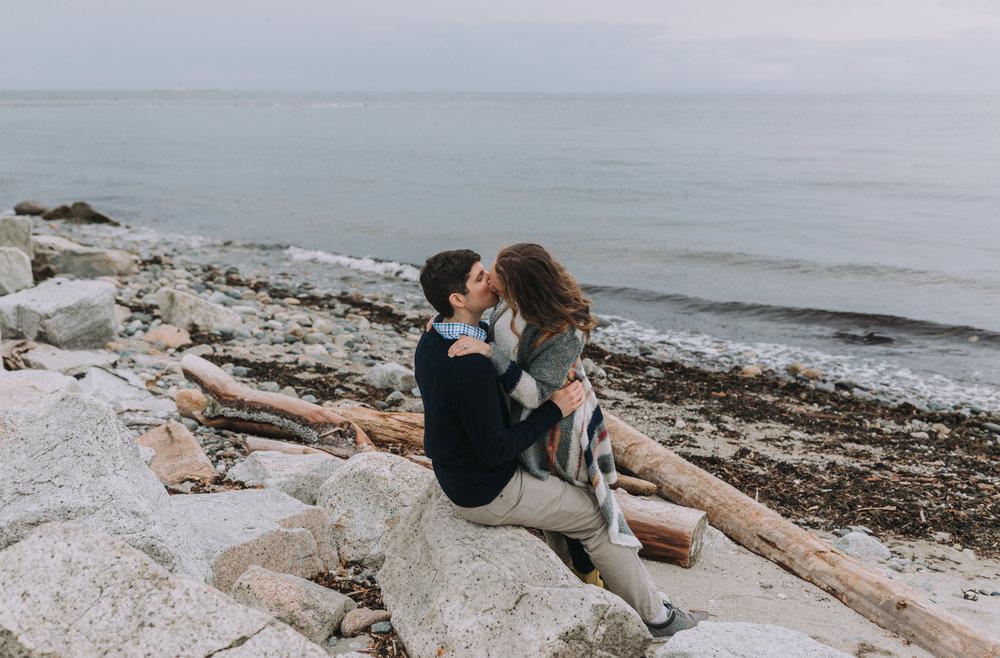 Forest Engagement Photos - Sunshine Coast BC Engagement Photos -  Sunshine Coast Wedding Photographer - Vancouver Wedding Photographer - Jennifer Picard417.JPG
