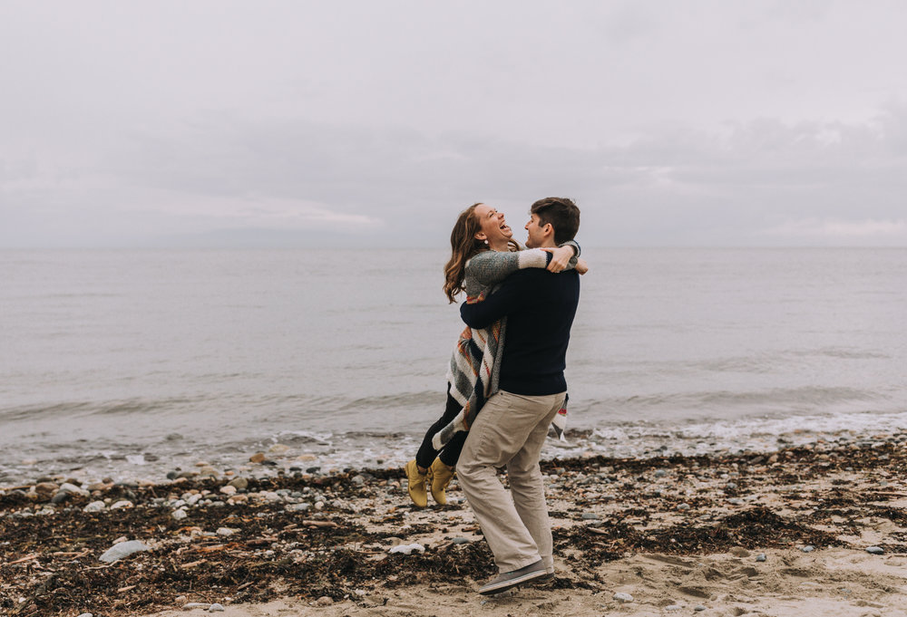 Forest Engagement Photos - Sunshine Coast BC Engagement Photos -  Sunshine Coast Wedding Photographer - Vancouver Wedding Photographer - Jennifer Picard423.JPG