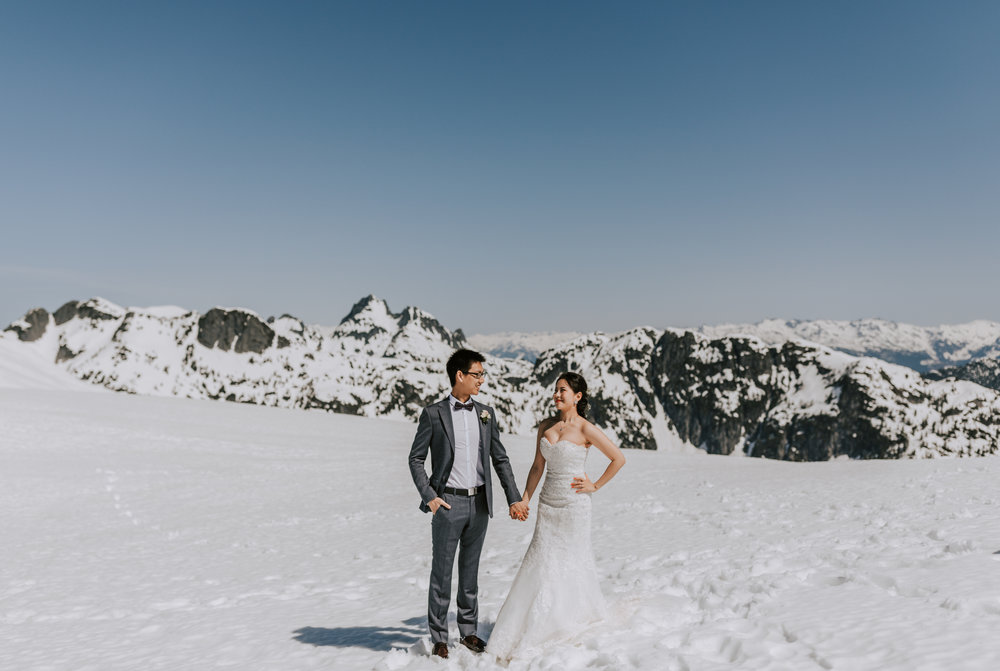 Helicopter Mountaintop Elopement - Sky Helicopters Wedding - Jennifer Picard Photography - Vancouver Wedding Photographer & Videographer - 175.JPG