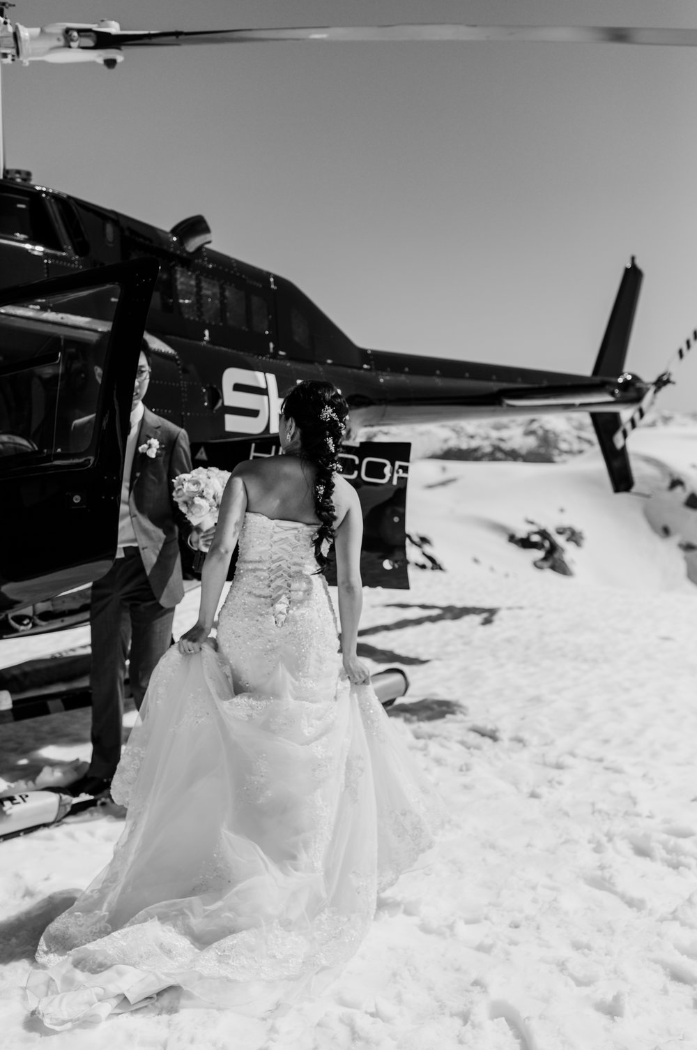 Helicopter Mountaintop Elopement - Sky Helicopters Wedding - Jennifer Picard Photography - Vancouver Wedding Photographer & Videographer - 201.JPG