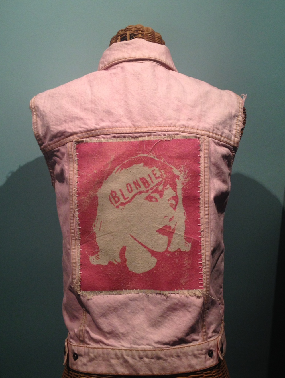 Dylan Garrett Smith Blondie Decoden punk vest sewn