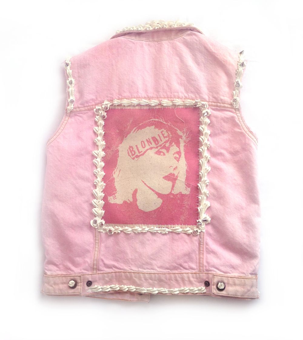 Dylan Garrett Smith Blondie Decoden punk vest back