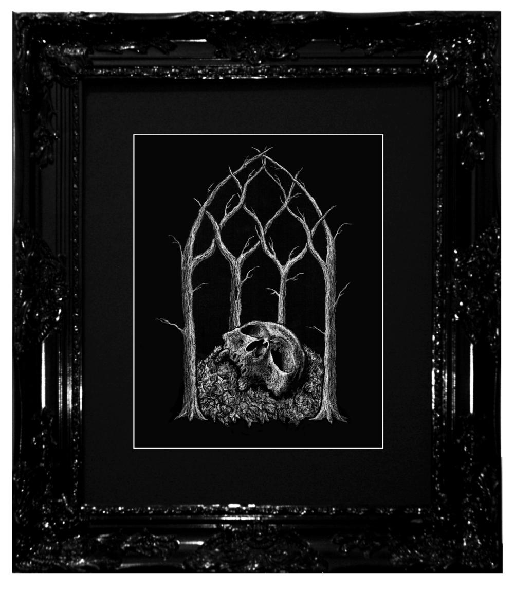 Dylan Garrett Smith Unholy are the Ghosts XVX framed.jpg