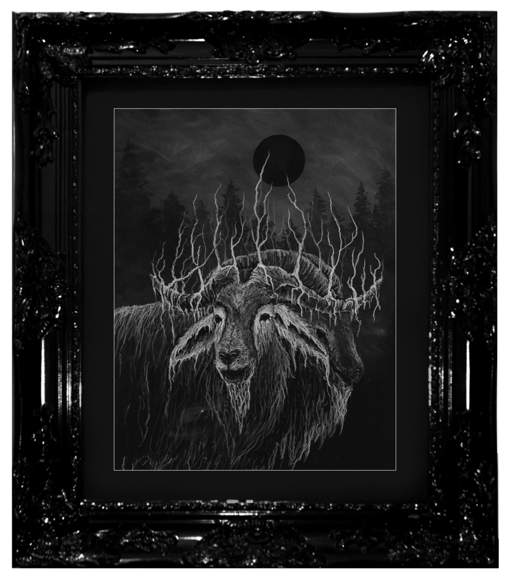 Dylan Garrett Smith Black The Abomination of Abominations Framed.jpg
