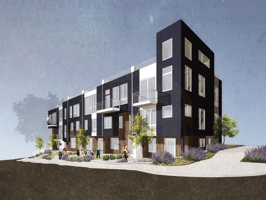 Render of Newtown project