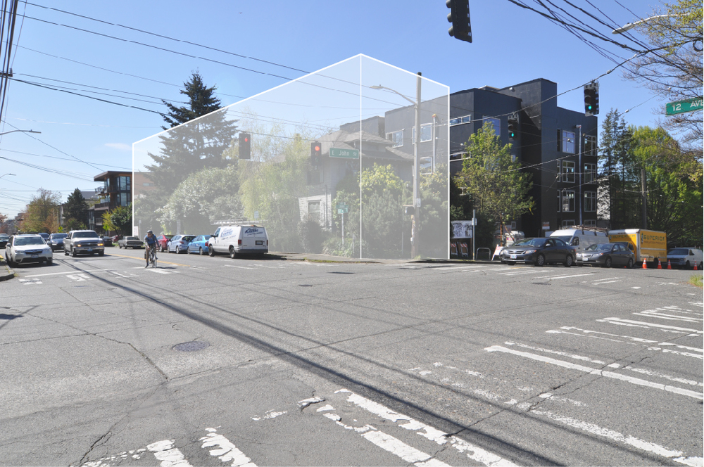 51 unit apartment building to come at the southwest corner of 12th Ave E and E John St