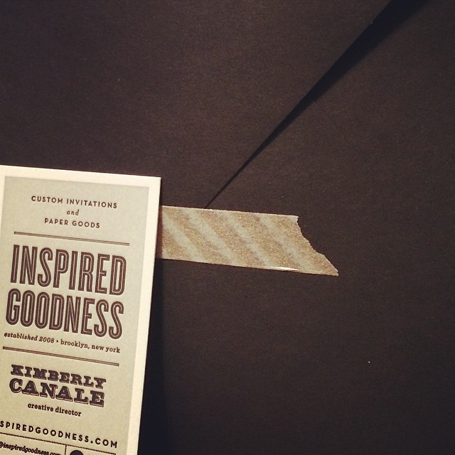 Special sample delivery headed out the door.... #wedding #letterpress #invitations