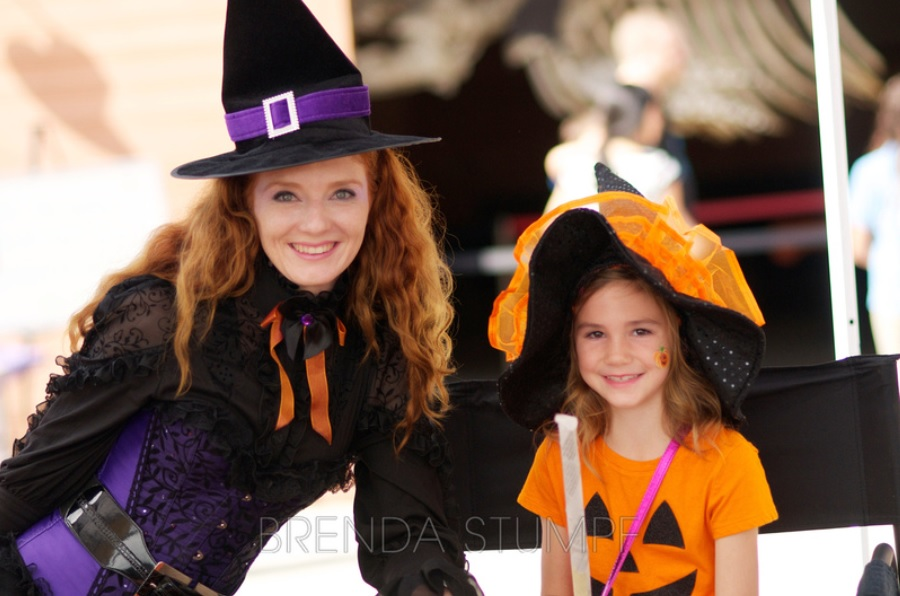 Good witch with orange kid witch.jpg