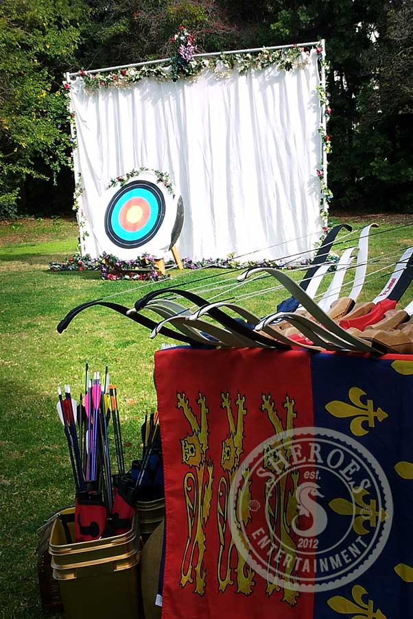 Medieval upgrade. Please note that this target has been replaced on events with the NASP target.