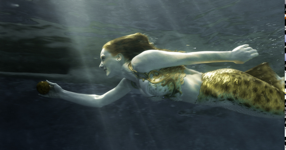 Catalina Mermaid Swimming Under Water_Starburst_October 2014.jpg