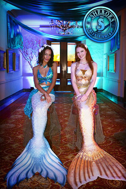 (c) John Paulsen, Mermaid Vanessa and Catalina Mermaid
