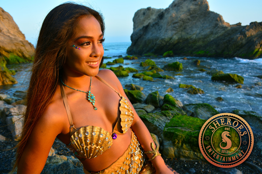 Kailani Pacific Islander Professional Mermaid at Beach 3.jpg