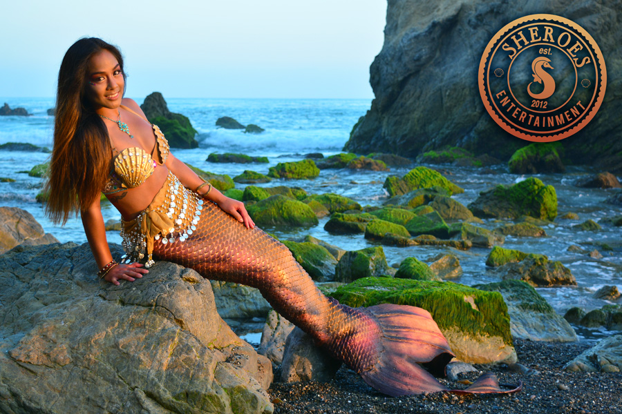 Kailani Pacific Islander Professional Mermaid at Beach.jpg