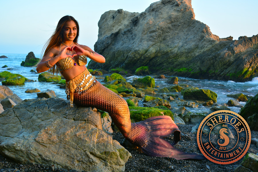 Kailani Pacific Islander Professional Mermaid at Beach 2.jpg