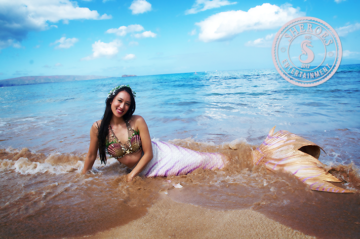 Mermaid Lily on Beach.png