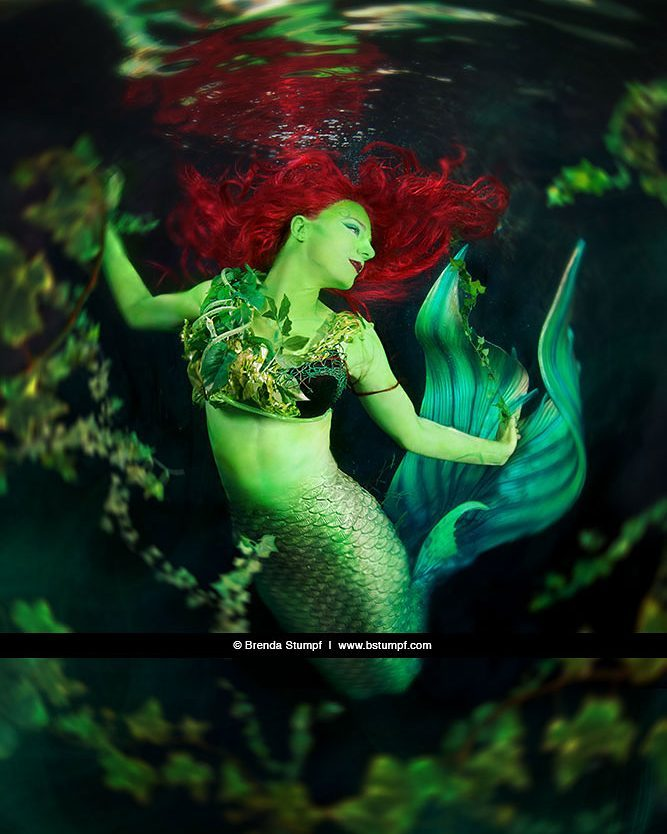 Poison Ivy Mermaid by Brenda Stumpf.jpg