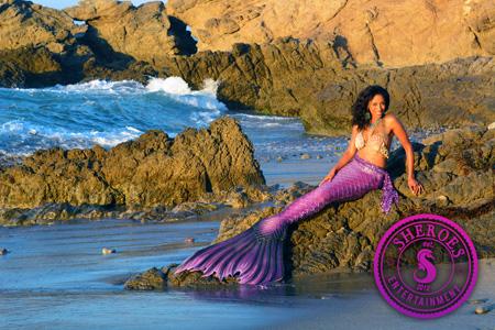 Black Mermaid Party Los Angeles