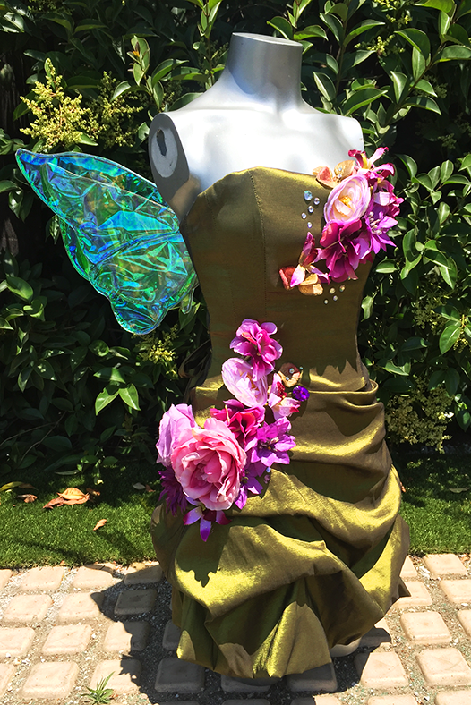 Green Upscale Tinkerbell Fairy Costume Los Angeles