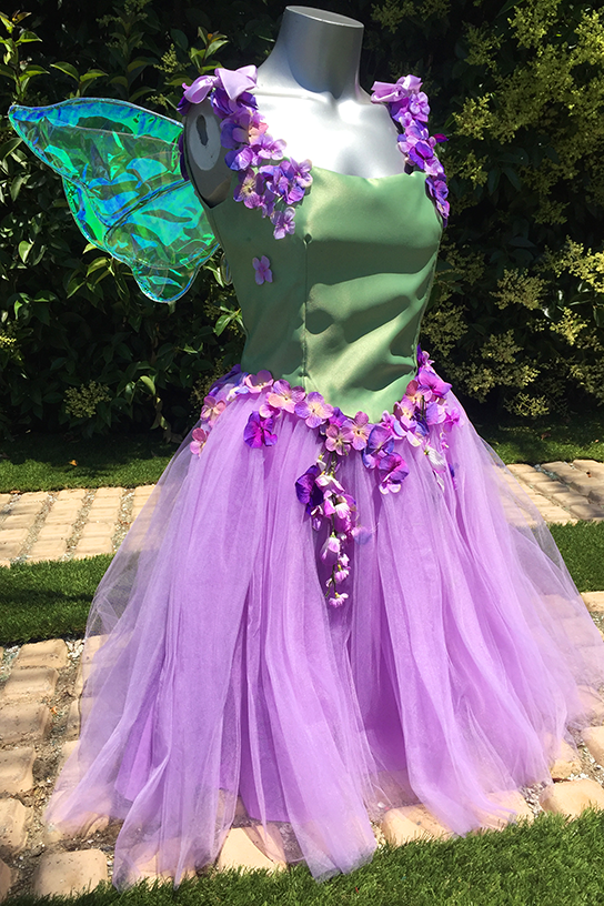 Purple Fairy Party Costume Los Angeles