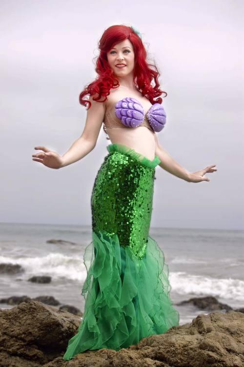 Walking Skirt Non Swimming Mermaid Princess.jpg