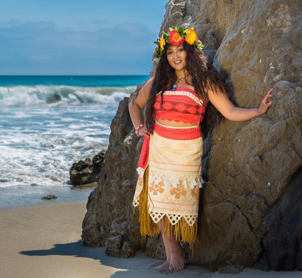 Hawaiian Princess Theme Party for kids Los Angeles