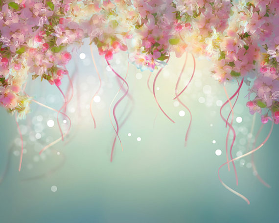 Our 10'x10' Freestanding Anti-Glare Spring Photography Backdrop's Design
