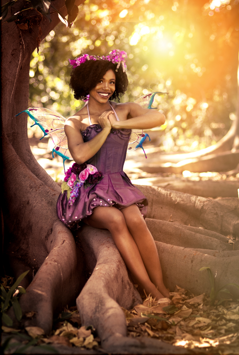 African American Fairy Party Character Los Angeles 2