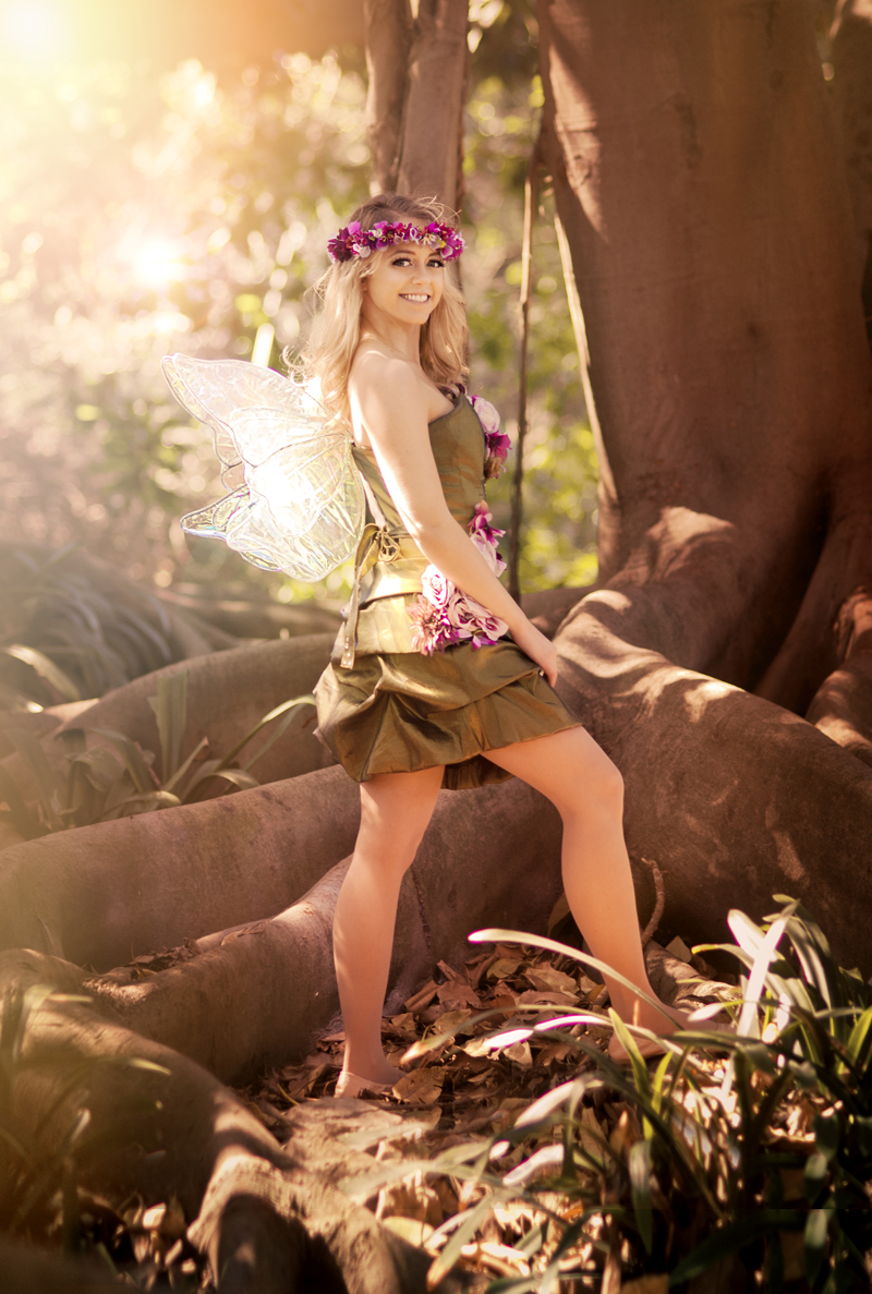 Los Angeles Tinkerbell Fairy Party Character
