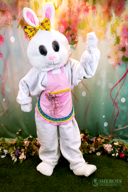 Los Angeles Party Girl Easter Bunny Costume Character