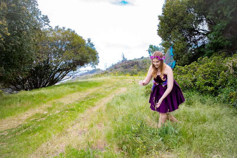 Los Angeles Garden Fairy Costumed Actor Entertainer for Birthday Party 2