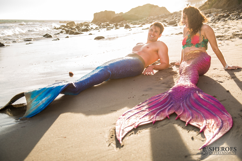 Mermaid Merissa and Merman Paul - web - logo - beach 1.png