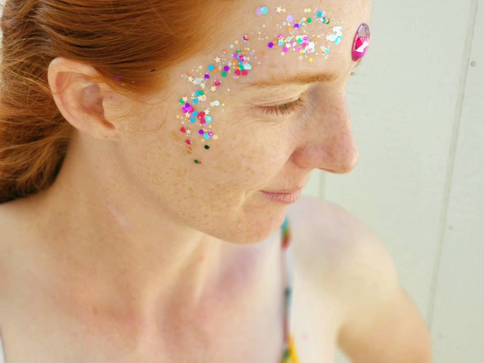 Glitter Festival Faces are Perfect for Cochella and EDM Music Festivals with a variety of glitter and gems to choose from.